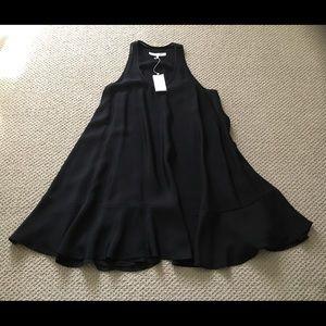 3.1 PHILLIP LIM BLACK  SILK DRESS IN size 6 US .